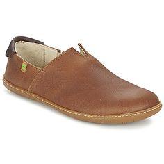 loaferit ruskeaa nahkaa nahkakengät El Naturalista nahkavarsi ja kumipohja brown - kengät 101,00 € el viajero