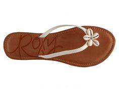 Roxy Waterlily Flip Flop Flip Flops & Beach Sandal Shop Women's Shoes - DSW. $34.95