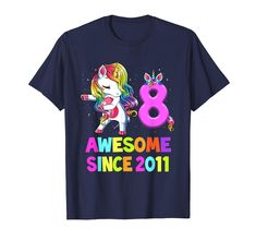 Check this 6 Years Old Birthday Unicorn Floss Shirt Girl Gift Party T-Shirt-Loveshirt . Hight quality products with perfect design is available in a spectrum of colors and sizes, and many different types of shirts! Cute Birthday Gift, Unicorn Birthday Parties, 9th Birthday, Unicorn Party, Happy Birthday, 6 Year Old, Unicorn Shirt, Proud Mom, Autism Awareness Day