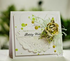 Thoughts of a Cardmaking Scrapbooker!: Birthday Wishes