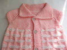 Handmade Knitting Pattern...Knitting Baby Vest... by Vestberet