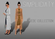 Simpliciaty: Suede Collection • Sims 4 Downloads