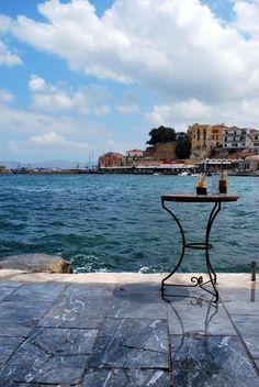 abandoned coffee - chania, crete