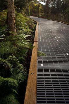 Narrabeen Lagoon, Stage 1 Elevated Walkway, Custom Seating + Viewing Decks - F . Landscape Architecture Design, Architecture Details, Design Jardin, Garden Design, Garden Paths, Garden Landscaping, Landscaping Ideas, Urban Planning, Urban Landscape