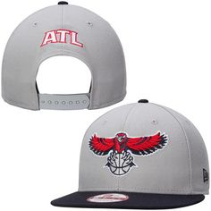 Atlanta Hawks New Era GCP 9FIFTY Snapback Adjustable Hat - Gray - $29.99