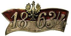 POLSKA / Biżuteria patriotyczna. broszka w postaci proporca z agrafką,
