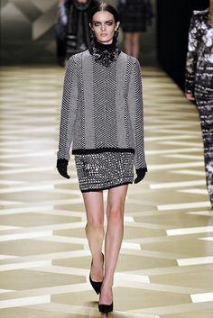 Roberto Cavalli Fall 2013 Ready-to-Wear Fashion Show - Esther Heesch
