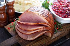 Whether you choose to use the oven or a crock pot, the best way to cook a spiral ham without drying it out is to warm it gently with moist heat. Use the enclosed glaze packet or mix your own glaze recipe for a delicious ham dinner. Rum Glaze Recipe, Ham Glaze, Cooking Spiral Ham, Precooked Ham, Ham In The Oven, Maple Glazed Ham, Honey Mustard Glaze, Mustard Recipe, Fresh Ham