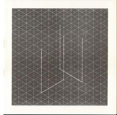 Fred Sandback, Ten isometric drawings for ten vertical constructions