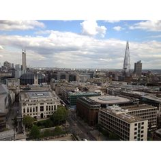 View of London from St. Paul's Cathedral.