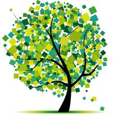 tree graphic design