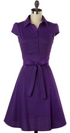 cute retro #purple dress http://rstyle.me/n/jsardr9te