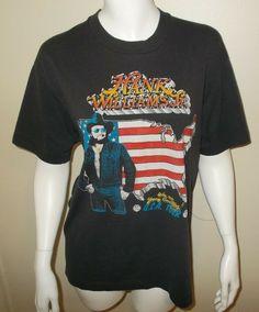 021d6d057 Vintage 1987 Hank Williams Jr Bocephus Young Country Concert Tour T-Shirt  Large #Williams