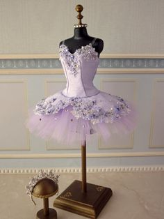 A miniature tutu handmade/ Miniature Ballet Costume Tutu Ballet, Ballerina Costume, Ballet Dancers, Ballet Shoes, Dance Costumes Ballet, Ballet Wear, Pointe Shoes, Ballerinas, Dance Outfits