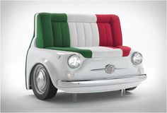 Fiat 500 Furniture - Viva Italia