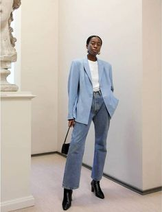 Fashion Gone rouge Beauty And Fashion, Look Fashion, Winter Fashion, Fashion Outfits, Fashion Style Women, Best Street Style, Street Style Outfits, Jean Outfits, Winter Outfits