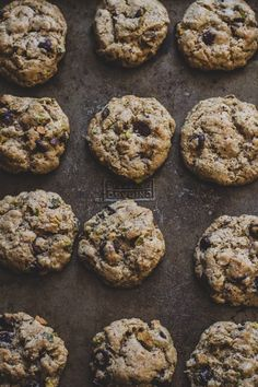 Gluten-Free Chocolate Chip Cookies with Pistachios | edibleperspective.com  #glutenfree #cookies