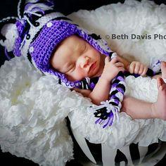Zebra photoprop baby