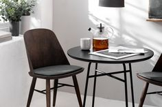 Less is more with Synnes Chair, a distinctively modern take on the classic Scandinavian dining chair from one of the region's most exciting young designers, Falke Svatun.