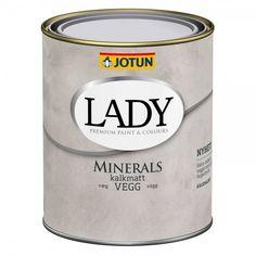Køb JOTUN KALKVÆGMALING LADY MINERALS 0,68 L BASE online hos BAUHAUS. Vi har altid den rigtige pris og 3 måneders returret.