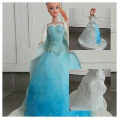 Frozen cake by deliDelicius