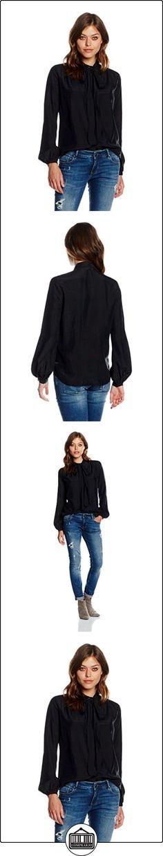 BOSS Orange Casi, Blusa Mujer, Negro (Black), 38  ✿ Blusas y camisas ✿