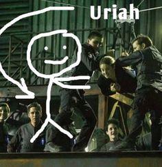 Lol, yeah Uriah!!! #DIVERGENT