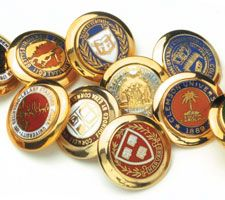 Ben Silver Blazer Buttons and Cufflinks Campus Style, Ivy League Style, Ivy Style, Rich Family, Elements Of Style, Beautiful Mind, College Fashion, Blazer Buttons, Gentleman Style
