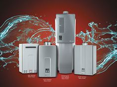 Satisfy All Your Hot Water Needs -  Rinnai Tankless Water Heaters ~ http://walkinshowers.org/best-tankless-water-heater-reviews.html