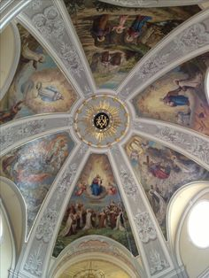 Church ceiling paintings