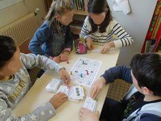 Les élèves s'entraînent à manipuler les fractions en jouant Fractions, Cycle 3, Classroom Management Techniques, Montessori Math, Math Centers, Teaching, School, Delphine, Robin