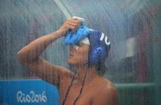 OLYMPICS-RIO-WATERPOLO-M Kenya Yasuda of Japan is injured in men's water polo. REUTERS/Laszlo Balogh