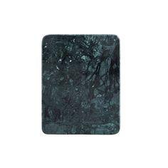 Planche à découper marbre vert 23x18 cm Madam Stoltz - Howne