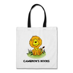 Lion library book bag  Click on photo to purchase. Check out all current coupon offers and save! http://www.zazzle.com/coupons?rf=238785193994622463&tc=pin
