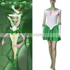 Cosplay Costume E001 sailor Uranus Trend Mark Sailor Moon Haruka Tenoh
