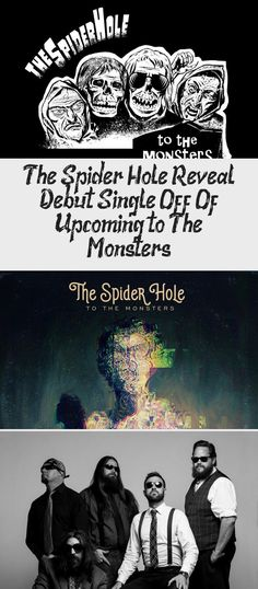 Phoenix, AZ based, Dark Alternative Rock Band THE SPIDER HOLE has announced the launch of a Kickstarter Campaign to help support their upcoming LP and associated graphic novel, To The Monsters. The unique project… Oingo Boingo, Album Stream, Alternative Rock Bands, Great Fear, Frank Zappa, Original Song, New Music, Lp, Phoenix