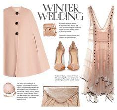 """Winter Wedding"" by juliehalloran ❤ liked on Polyvore featuring Alexander McQueen, Roksanda, Urban Expressions, Gianvito Rossi, Illamasqua and Lavish by TJM"