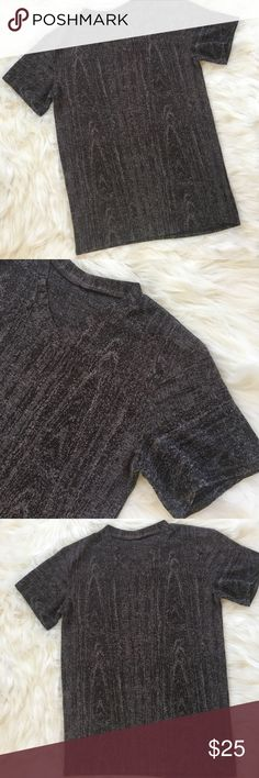 Knit  Vneck Classy look , good condition, tags were cut off because they were itchy Vintage Shirts Tees - Short Sleeve