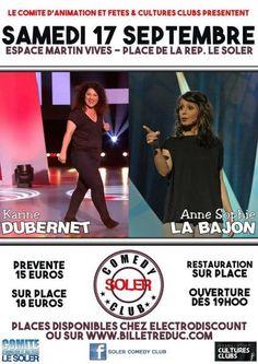 Le Soler Comedy Club reprend du service !