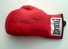Raging Bull Joe Pesci, Robert De Niro & Jake LaMotta Signed Boxing Glove