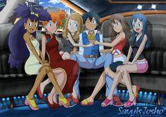 [CM] Axel-Letterman Pokegirl Limo Ride by SavyIsJoshoArts on DeviantArt Pokemon Waifu, Sexy Pokemon, Pokemon Manga, Ash Pokemon, Pokemon Pins, Pokemon Comics, Cool Pokemon, Pikachu, Limo Ride