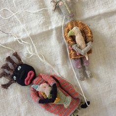 Sophie Digard Dolls ~ Makie Clothier