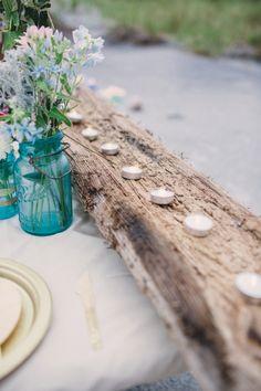 Beach Inspired Preppy Boho Wedding Inspiration