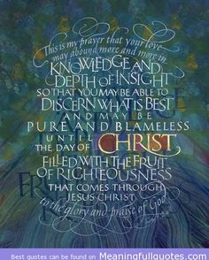 Christ filled with the truth - Bible Quotes Images Pictures - http://meaningfullquotes.com/christ-filled-with-the-truth-bible-quotes-images-pictures/
