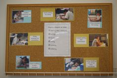 Whenever you can use student images to describe and celebrate the ways readers and writers work, you've created a beautiful wall display. Who doesn't love images of young learners at work?