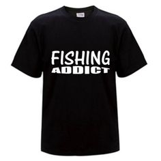 Are you a Fishing Addict? Don't hide it, Share it with the world. The Fishing Bandit - T Shirts for Fisher Folk Here is the link to our store - https://thefishingbandit.com/ A quality 100% combed cotton t-shirt. The combed cotton gives that soft to touch feel. Wear it with pride everyday; on the street, beach or anywhere you like. Available in - Black, Hot Pink, Royal Blue Check it Out... #fishing #tshirts #adventure #apparel