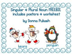 This FREEBIE is a perfect addition to a singular and plural noun activity. It has an adorable hot chocolate theme! There are 3 posters for singular nouns, plural nouns and rules of a plural noun. There is a worksheet for the students to make singular Singular And Plural Nouns, Nouns And Pronouns, Possessive Nouns, Crayon Box, Fact Families, First Grade Classroom, Winter Activities, Phonics, Grammar