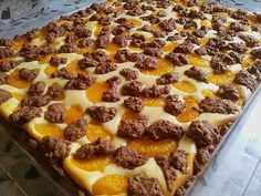 Mandarins - Zupfkuchen, a refined recipe from the cakes category. - sweets for my sweet - Cake-Kuchen-Gateau Summer Desserts, No Bake Desserts, Summer Recipes, Dessert Recipes, Savoury Baking, Healthy Baking, Baking For Beginners, Patisserie Sans Gluten, German Baking
