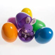 Bunny Filled Easter Egg