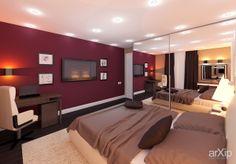 Спальня: интерьер, зd визуализация, квартира, дом, спальня, современный, модернизм, 10 - 20 м2, интерьер #interiordesign #3dvisualization #apartment #house #bedroom #dormitory #bedchamber #dorm #roost #modern #10_20m2 #interior arXip.com